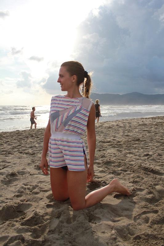 IndianSavage vintage dress beach2