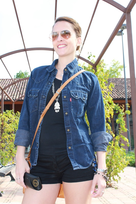 Indian Savage Margaret Dallospedale The diary of a fashion apprentice Denim shirt 9