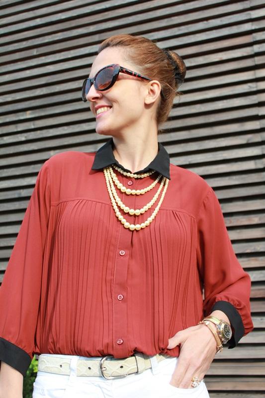 IndianSavage Margaret Dallospedale brown&Black shirt 0