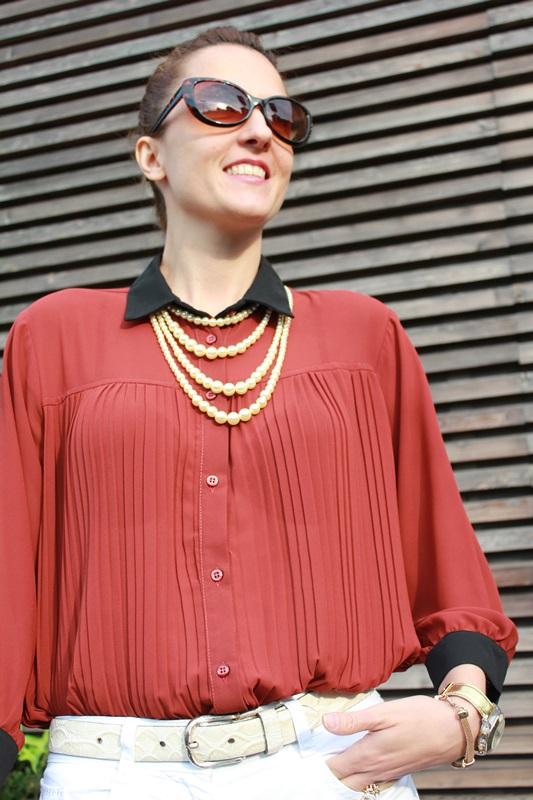 IndianSavage Margaret Dallospedale brown&Black shirt 3