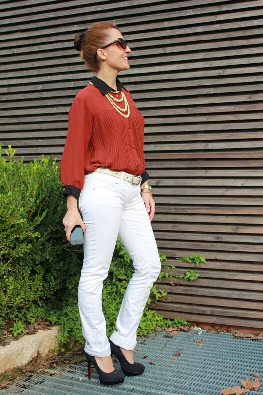 IndianSavage Margaret Dallospedale brown&Black shirt 5