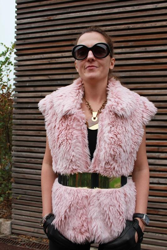 IndianSavage Margaret Dallospedale the diary of IndianSavage Fur gilet 1