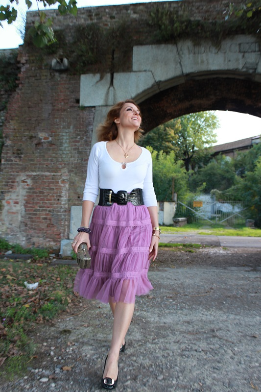 IndianSavage The diary of a fashion apprentice Tulle skirt 1