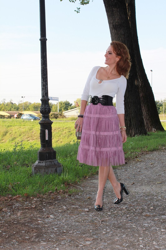 IndianSavage The diary of a fashion apprentice Tulle skirt 3