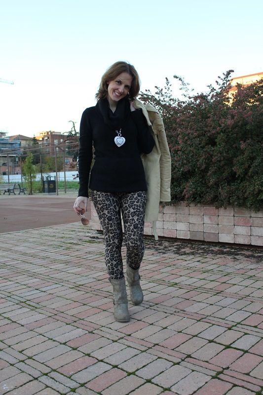 Indian Savage Margaret Dallospedale The Indian Savage diary leopard leggings 0