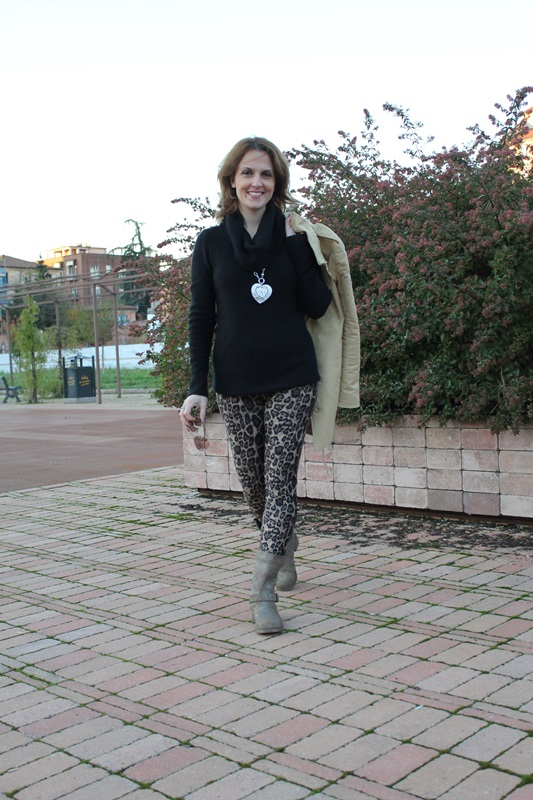 Indian Savage Margaret Dallospedale The Indian Savage diary leopard leggings 1