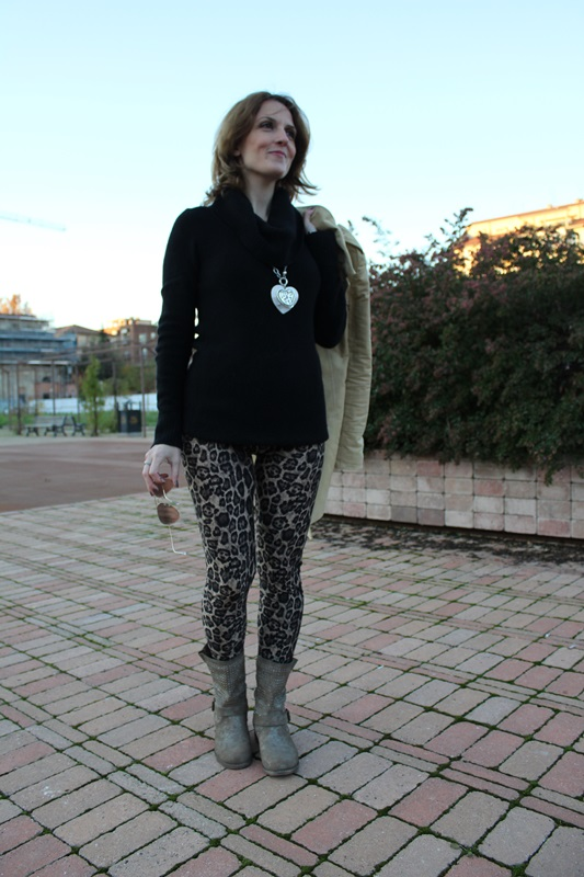 Indian Savage Margaret Dallospedale The Indian Savage diary leopard leggings 5