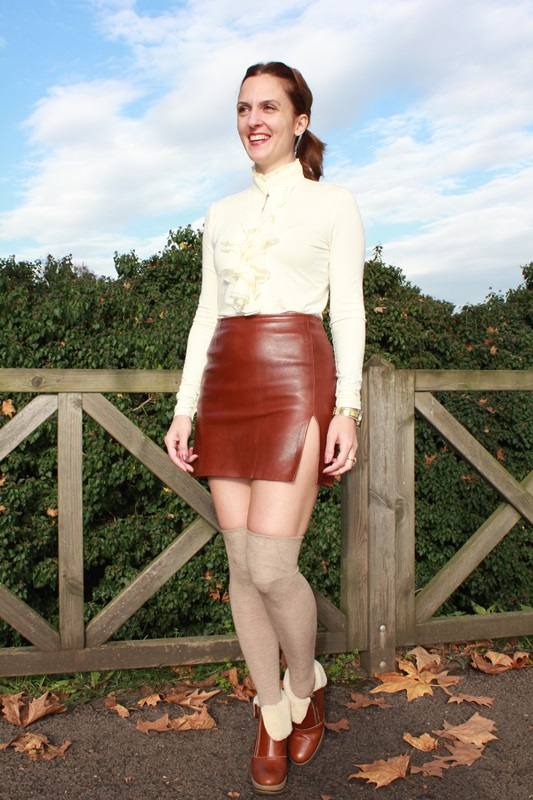 Indian Savage Margaret Dallospedale The indian Savage diary leather skirt 1