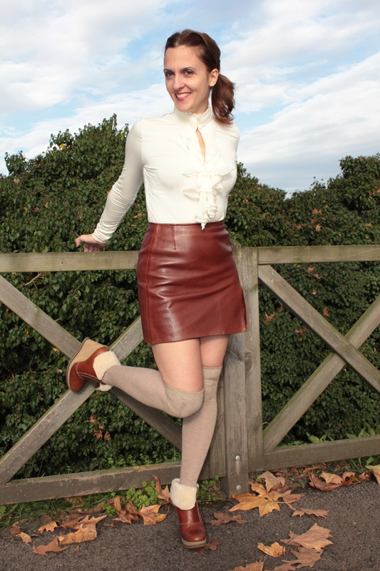 Indian Savage Margaret Dallospedale The indian Savage diary leather skirt 3