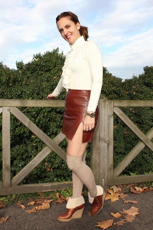 Indian Savage Margaret Dallospedale The indian Savage diary leather skirt 4