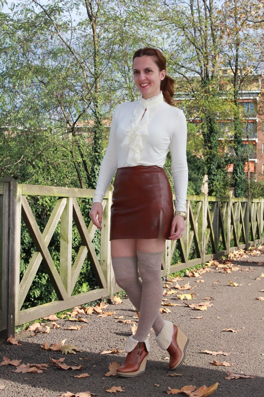 Indian Savage Margaret Dallospedale The indian Savage diary leather skirt 5