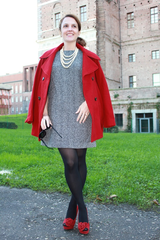 IndianSavage Margaret Dallospedale The Indian Savage diary dress and red coat 5