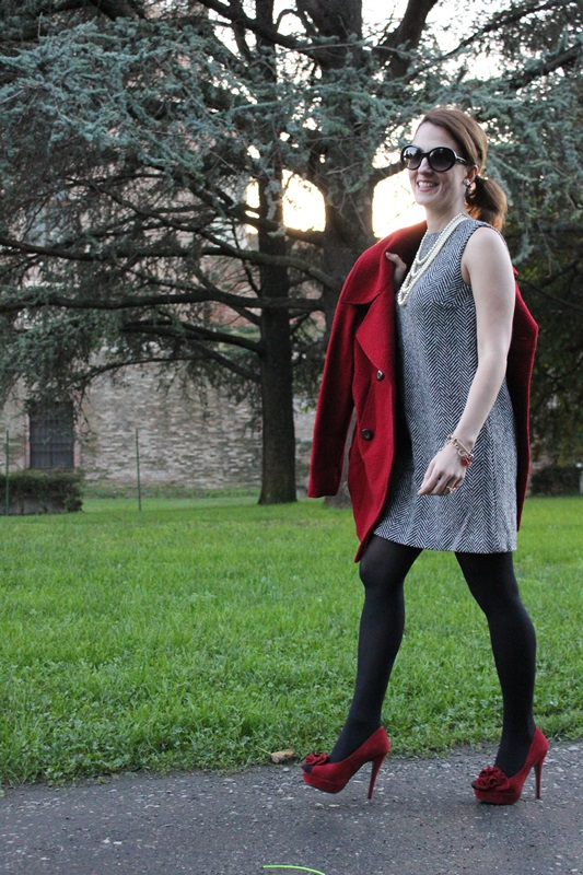 IndianSavage Margaret Dallospedale The Indian Savage diary dress and red coat 7