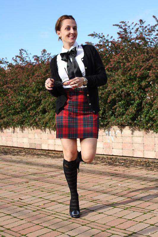 IndianSavage Margaret dallospedale The Indian Savage diary tartan skirt 5