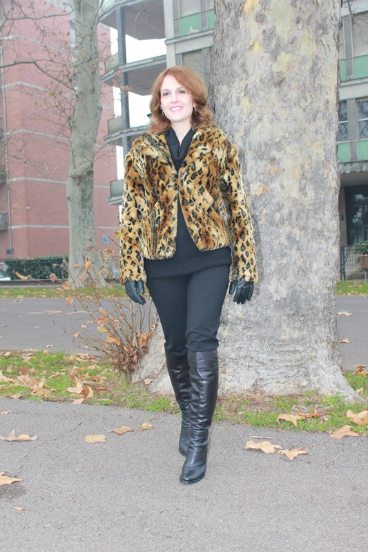 Indian Savage Margaret Dallospedale The Indian Savage diary leopard coat how to wear 3