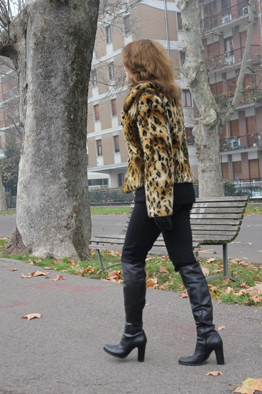 Indian Savage Margaret Dallospedale The Indian Savage diary leopard coat how to wear 5