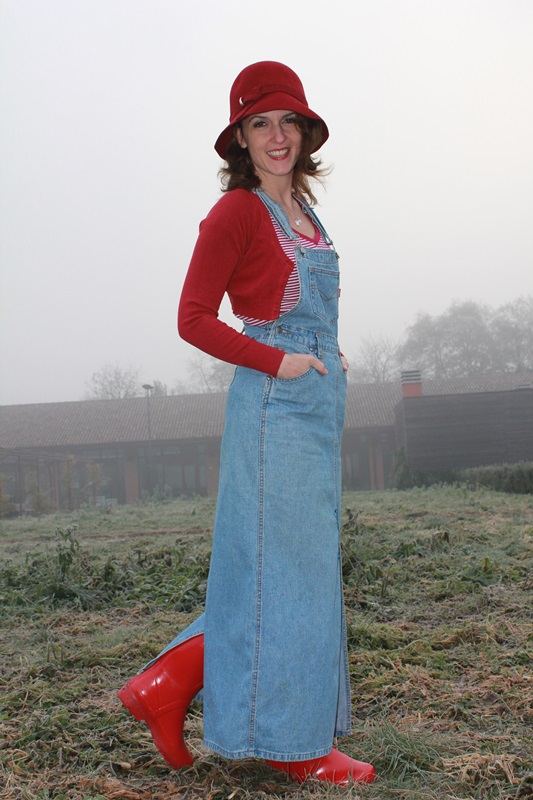 IndianSavage Margaret Dallospedale The Indian Savage diary dungaree 1