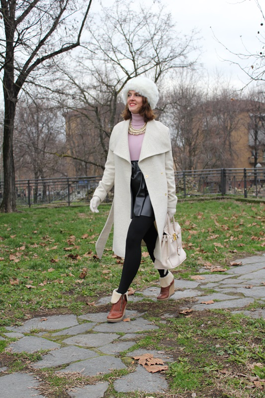 Indian Savage Margaret Dallospedale The Indian Savage diary Winter outfit ootd oow Colbacco 3