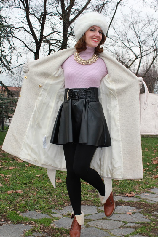 Indian Savage Margaret Dallospedale The Indian Savage diary Winter outfit ootd oow Colbacco 5