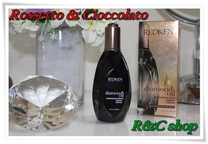 Margaret Dallospedale The Indian Savage diary Redken diamond oil Rossetto & Cioccolato R&C shop review 2