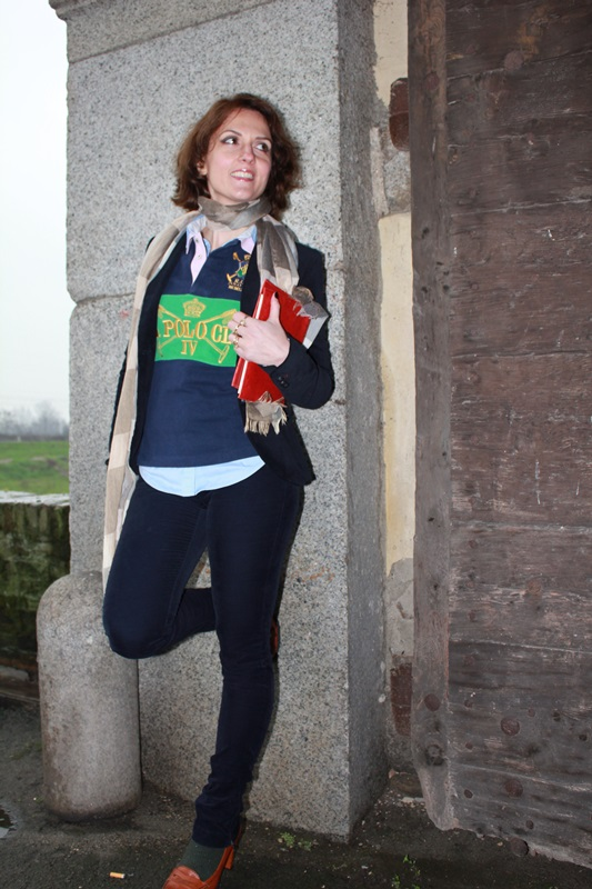 Margaret Dallospedale Indian Savage The Indian Savage diary winter outfit preppy rugby 5