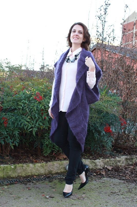 Margaret Dallospedale The Indian Savage diary Indian Savage chic maxi cardigan 1