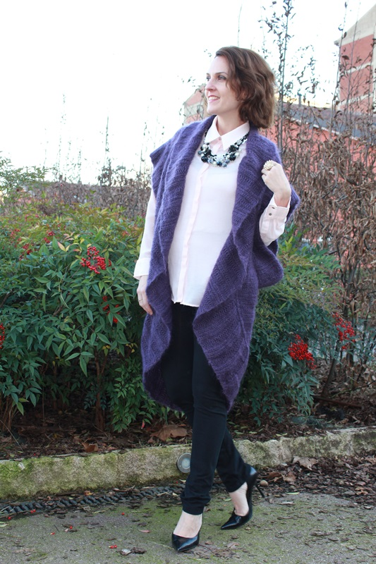 Margaret Dallospedale The Indian Savage diary Indian Savage chic maxi cardigan 4