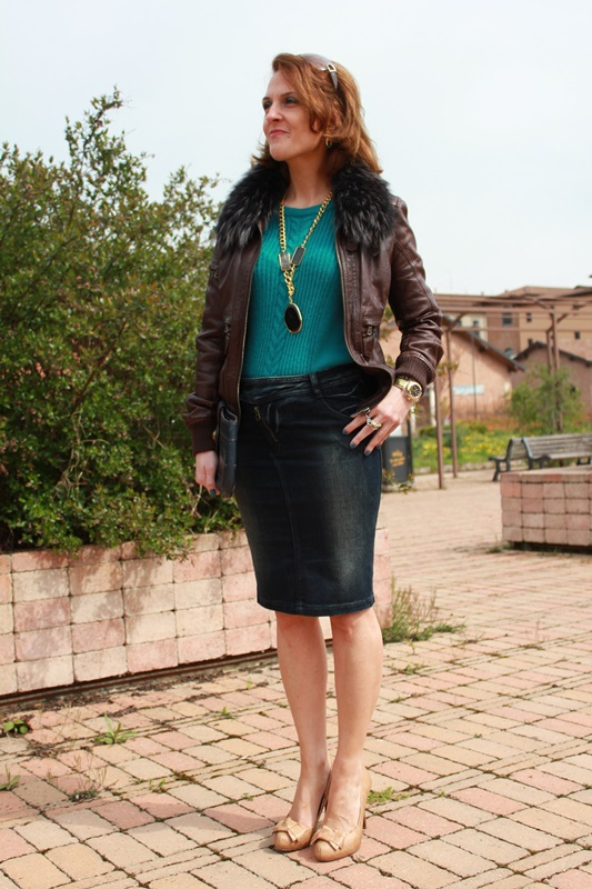 Margaret Dallospedal, The Indian Savage diary, Indian Savage, Fashion Blogger, Fashion Blog, Denim skirt, 3