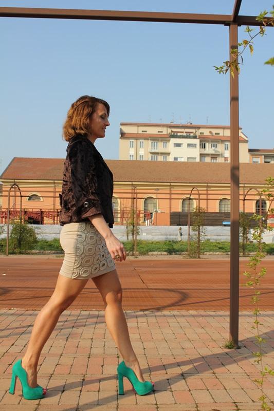 Margaret Dallospedale, Fashion blogger, The Indian Savage diary, indiansavage.com, fashion blog, sand dress, 4