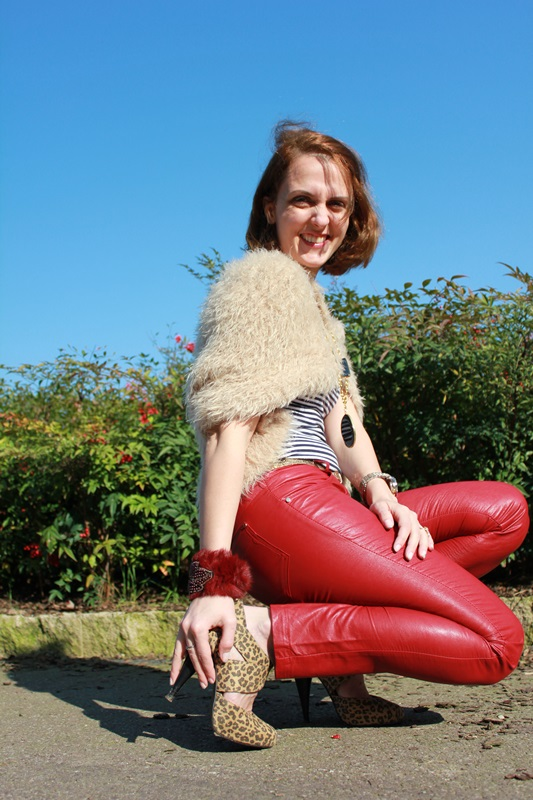 Margaret Dallospedale, The Indian Savage diary, Fashion blogger, fashion blog, indiansavage.com, burgundy leather pants, 10