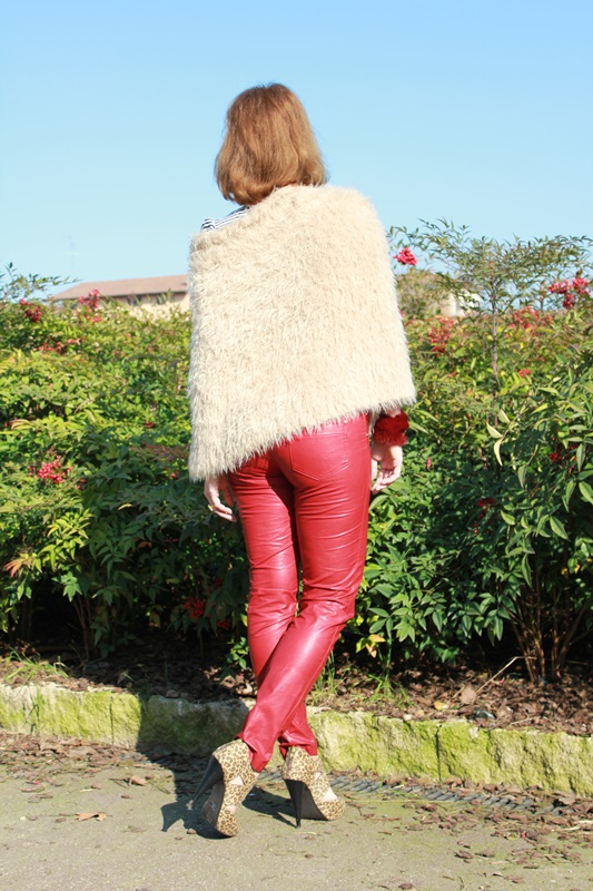 Margaret Dallospedale, The Indian Savage diary, Fashion blogger, fashion blog, indiansavage.com, burgundy leather pants, 5