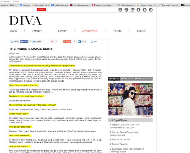 Diva Magazine Dubai 2