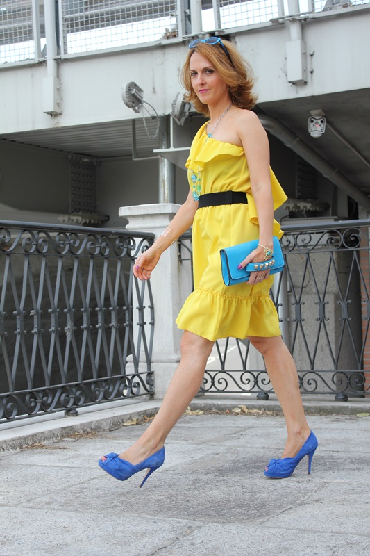 Margaret Dallospedale, Fashion blogger, The Indian Savage diary, Fashion blog, www.indiansavage.com, fashion tips, Lifestyle, Personal style, Yellow dress, 1