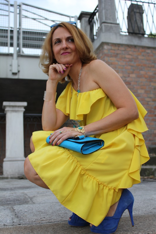 Margaret Dallospedale, Fashion blogger, The Indian Savage diary, Fashion blog, www.indiansavage.com, fashion tips, Lifestyle, Personal style, Yellow dress, 2