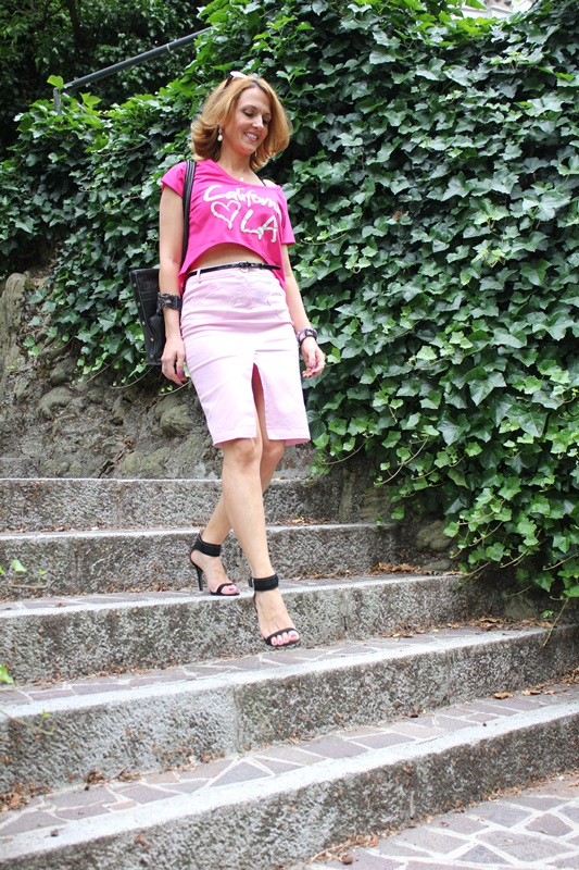 Margaret Dallospedale, Fashion blogger, The Indian Savage diary, Fashion blog, www.indiansavage.com, fashion tips, Lifestyle, Personal style, Crop top, pencil skirt, 2
