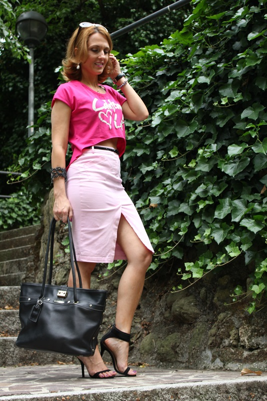 Margaret Dallospedale, Fashion blogger, The Indian Savage diary, Fashion blog, www.indiansavage.com, fashion tips, Lifestyle, Personal style, Crop top, pencil skirt, 4