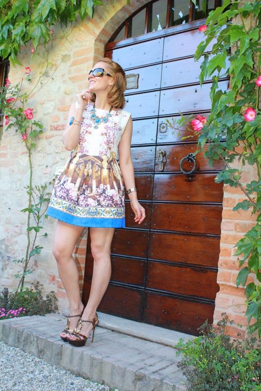 Margaret Dallospedale, Fashion blogger, The Indian Savage diary, Fashion blog, www.indiansavage.com, fashion tips, Lifestyle, Landscape dress, 1