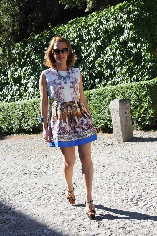 Margaret Dallospedale, Fashion blogger, The Indian Savage diary, Fashion blog, www.indiansavage.com, fashion tips, Lifestyle, Landscape dress, 2