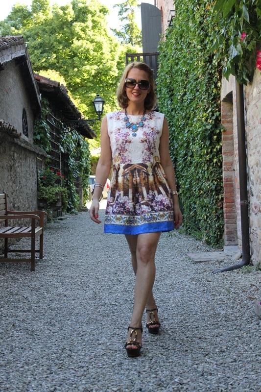 Margaret Dallospedale, Fashion blogger, The Indian Savage diary, Fashion blog, www.indiansavage.com, fashion tips, Lifestyle, Landscape dress, 3
