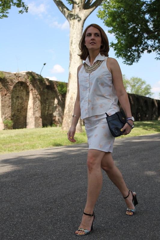 Margaret Dallospedale, Fashion blogger, The Indian Savage diary, Fashion blog, www.indiansavage.com, fashion tips, Lifestyle, Personal style, Palm print, 1