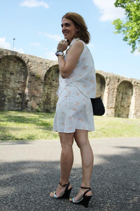 Margaret Dallospedale, Fashion blogger, The Indian Savage diary, Fashion blog, www.indiansavage.com, fashion tips, Lifestyle, Personal style, Palm print, 4