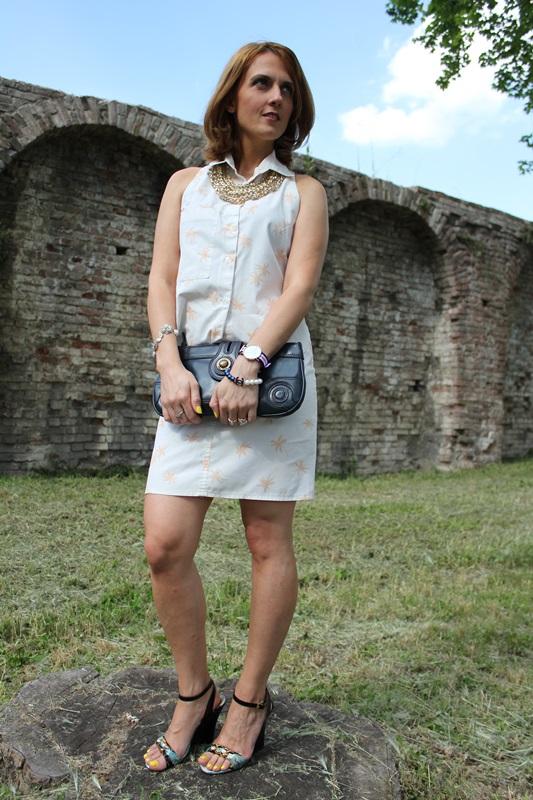 Margaret Dallospedale, Fashion blogger, The Indian Savage diary, Fashion blog, www.indiansavage.com, fashion tips, Lifestyle, Personal style, Palm print, 5