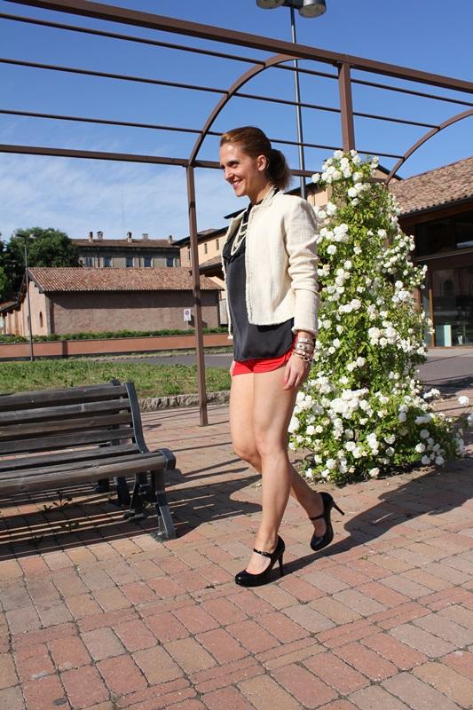 Margaret Dallospedale, Fashion blogger, The Indian Savage diary, Fashion blog, www.indiansavage.com, fashion tips, Lifestyle, shorts, 3