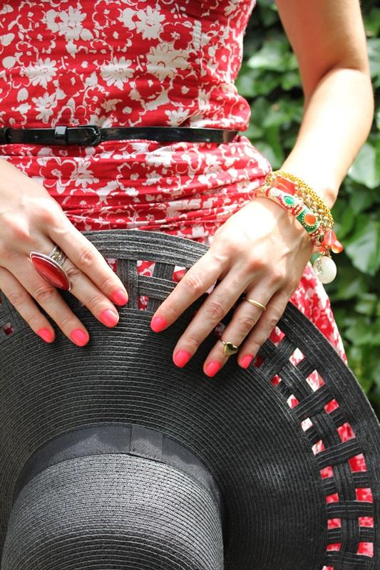 Margaret Dallospedale, Fashion blogger, The Indian Savage diary, Fashion blog, www.indiansavage.com, fashion tips, Lifestyle,Midi dress, '50 , floral print, 12