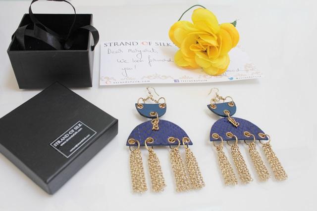 Personal Style and Fashion blog of Margaret Dallospedale Italian Fashion blogger Accessories, Jewelry, STRAND OF SILK, DESIGNER EARRINGS, Sannam Chopra, 1