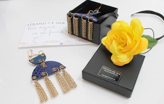 Personal Style and Fashion blog of Margaret Dallospedale Italian Fashion blogger Accessories, Jewelry, STRAND OF SILK, DESIGNER EARRINGS, Sannam Chopra, 3