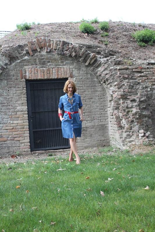Margaret Dallospedale, Fashion blogger, The Indian Savage diary, Fashion blog, www.indiansavage.com, fashion tips, Lifestyle, How to wear, Denim dress , 3