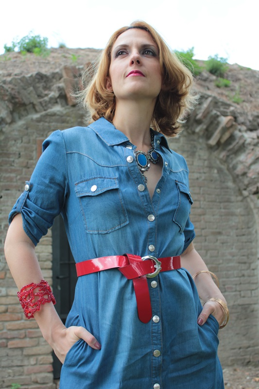 Margaret Dallospedale, Fashion blogger, The Indian Savage diary, Fashion blog, www.indiansavage.com, fashion tips, Lifestyle, How to wear, Denim dress , 7