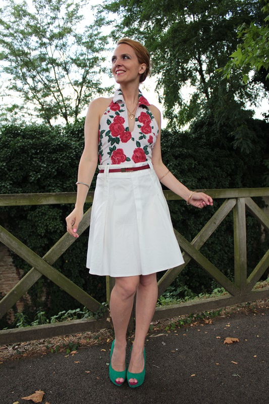 Margaret Dallospedale, Fashion blogger, The Indian Savage diary, Fashion blog, www.indiansavage.com, fashion tips, Lifestyle, How to wear, Floral print, top, 1