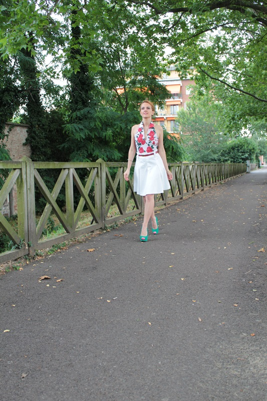 Margaret Dallospedale, Fashion blogger, The Indian Savage diary, Fashion blog, www.indiansavage.com, fashion tips, Lifestyle, How to wear, Floral print, top, 2